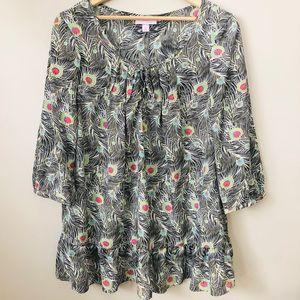 LIBERTY LONDON blouse women's size XL